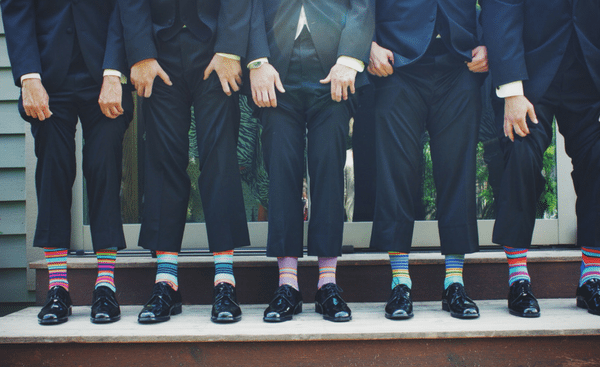Top-3 Rules on How to Wear Bright or Printed Socks